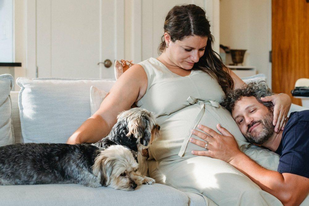 Onzekere vaders (ben ik wel de vader) en hoe bouw je al een band op met je ongeboren kind